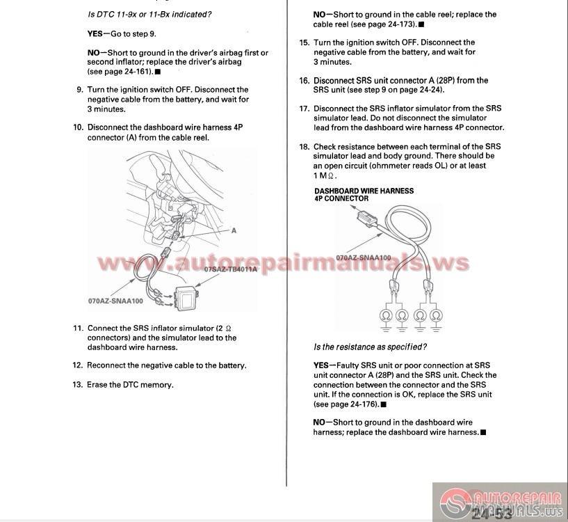 Honda Crv 2007-2009 Service Repair Manual