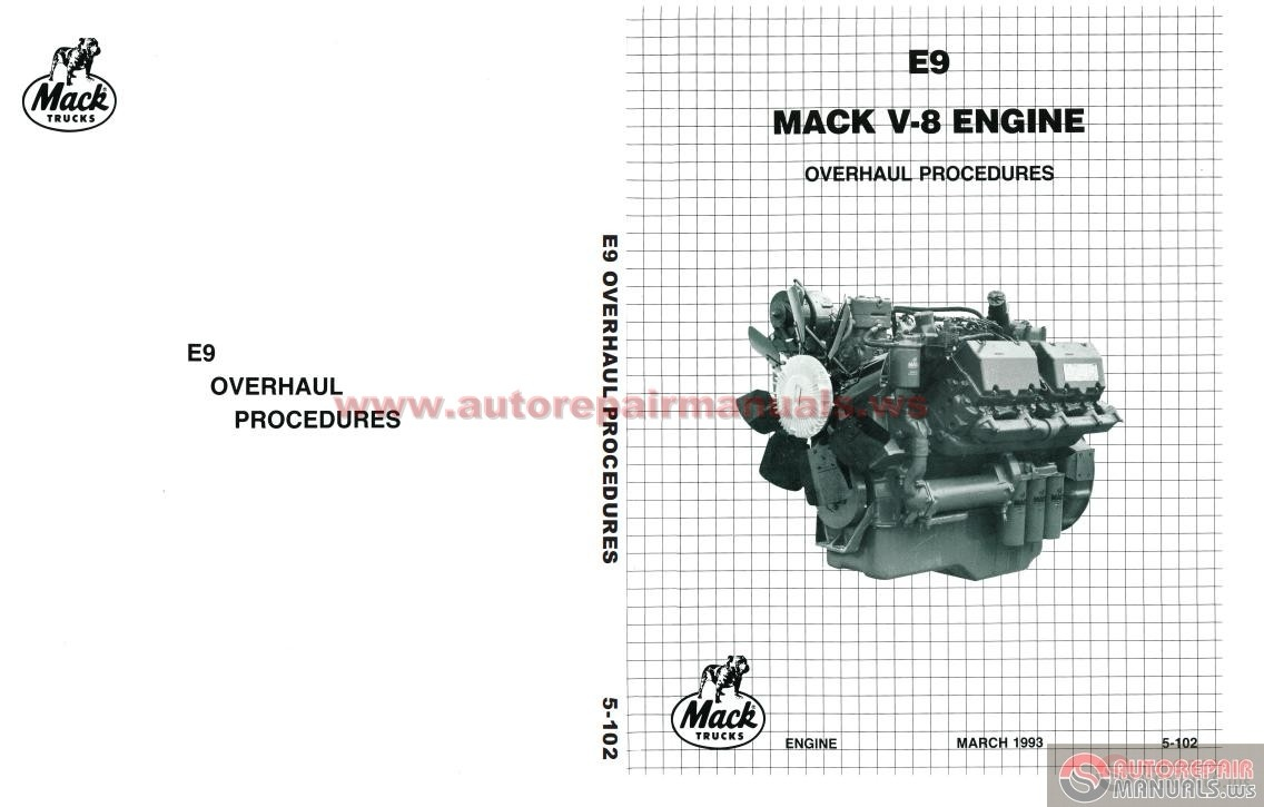 mack e9 v8 workshop manual auto repair manual forum heavy more the random threads same category mack mp7 diesel engine