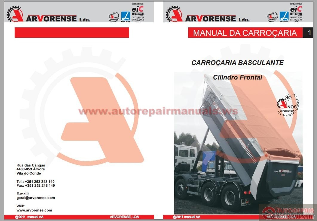 Tipper For Trucks Workshop Manuals Auto Repair Manual