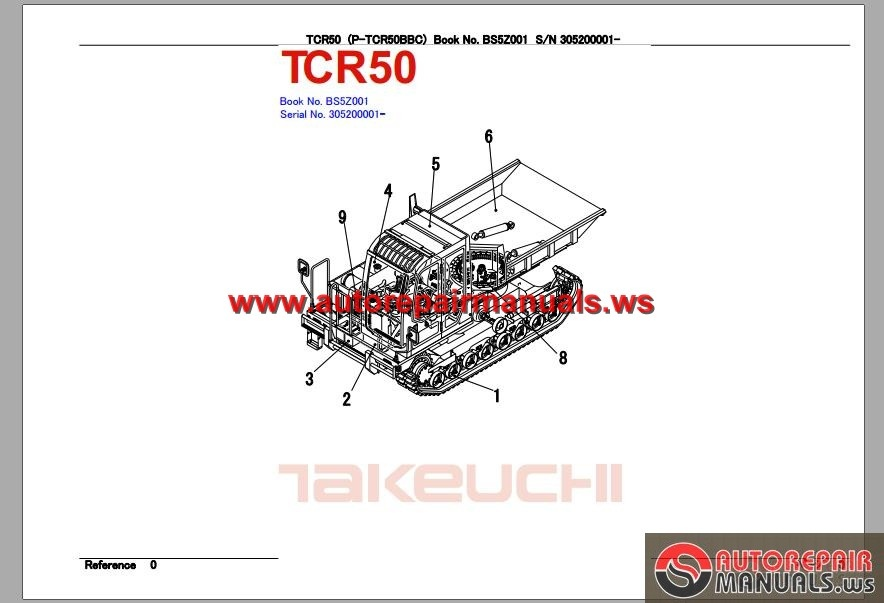 TAKEUCHI_DUMP_CARRIER_TCR50_SERIE_30520001_Parts_Manual2 agco allis wiring diagram battery diagrams wiring diagram ~ odicis Vertical Baler Diagram at honlapkeszites.co