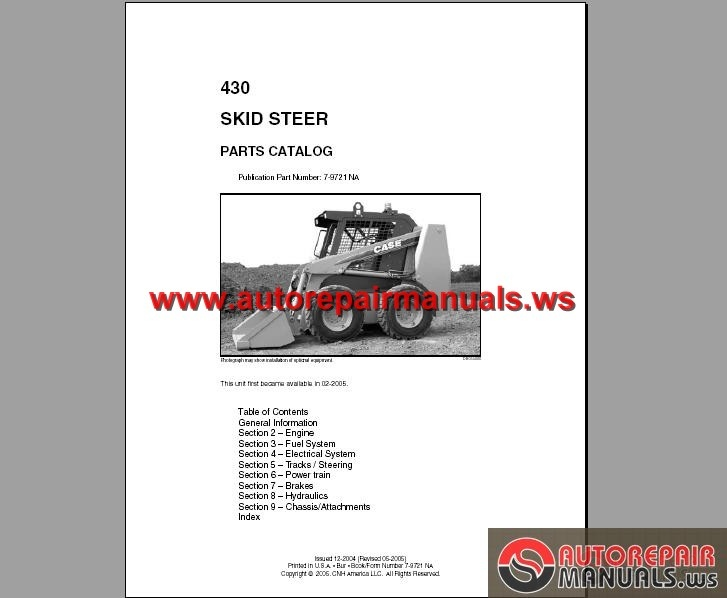 case 430 skid steer loader parts catalog auto repair manual case 430 skid steer loader parts catalog size 95 4mb language english type pdf