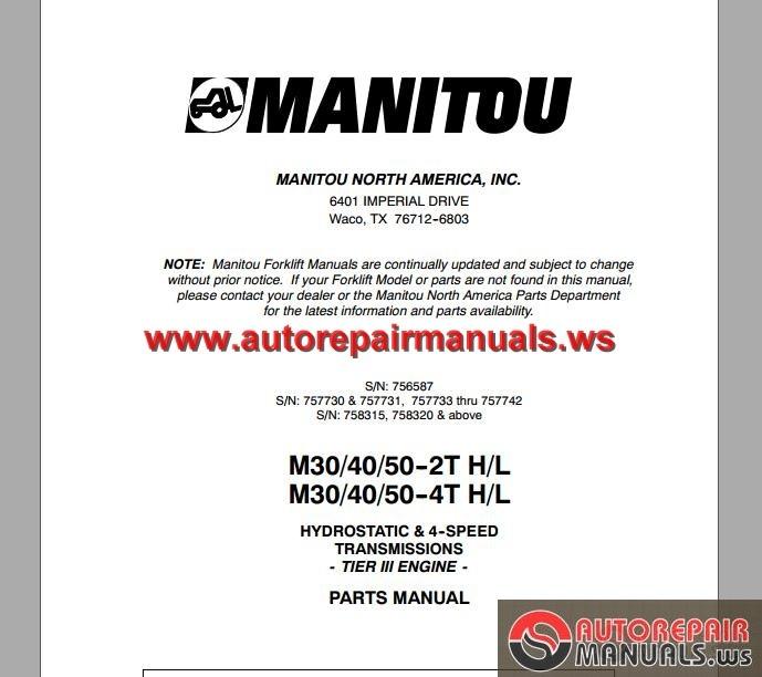 Hino 300 Series Workshop Manual