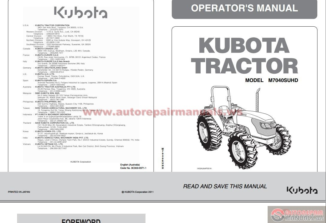 Kubota Tractor Schematics : V kubota engine diagram parts lookup by