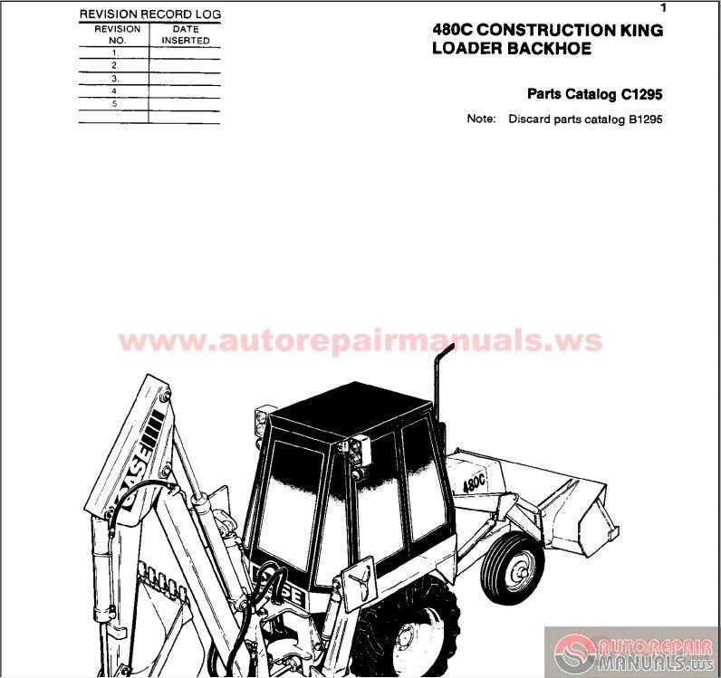 case 580 loader backhoe wiring diagram case 580b backhoe