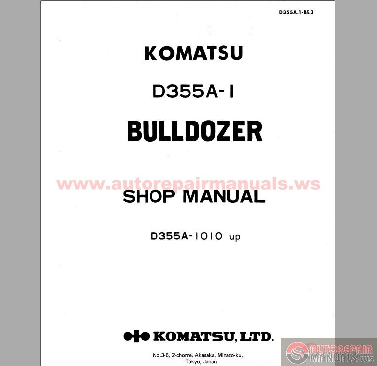 volvo excavator wiring diagrams pdf with Komatsu Bulldozers D355 A1 Shop Manual on 97 Chevy Engine Diagram 3 1 Liter moreover Cluster Truck Play Now For Free further Volvo C30 Wiring Diagram furthermore Volvo Ec15b Wiring Diagram further Komatsu Bulldozers D355 A1 Shop Manual.