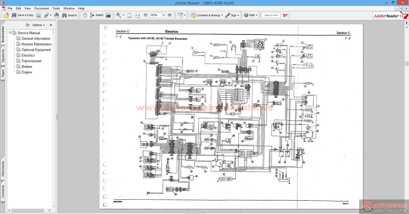 Jcb Wiring Schematic - Bookmark About Wiring Diagram on