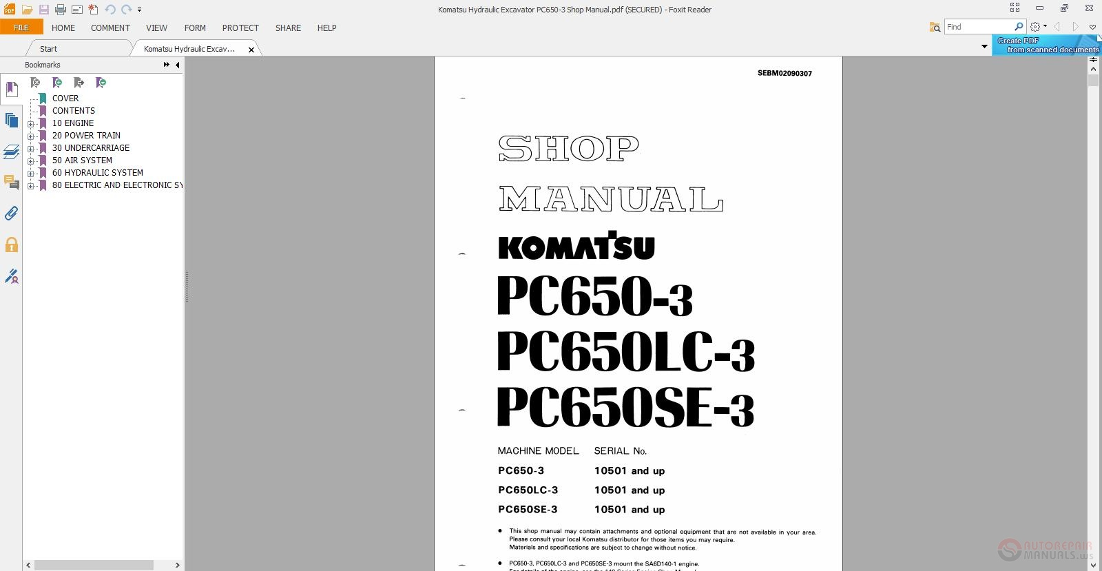 komatsu pc450 lc-8 pdf