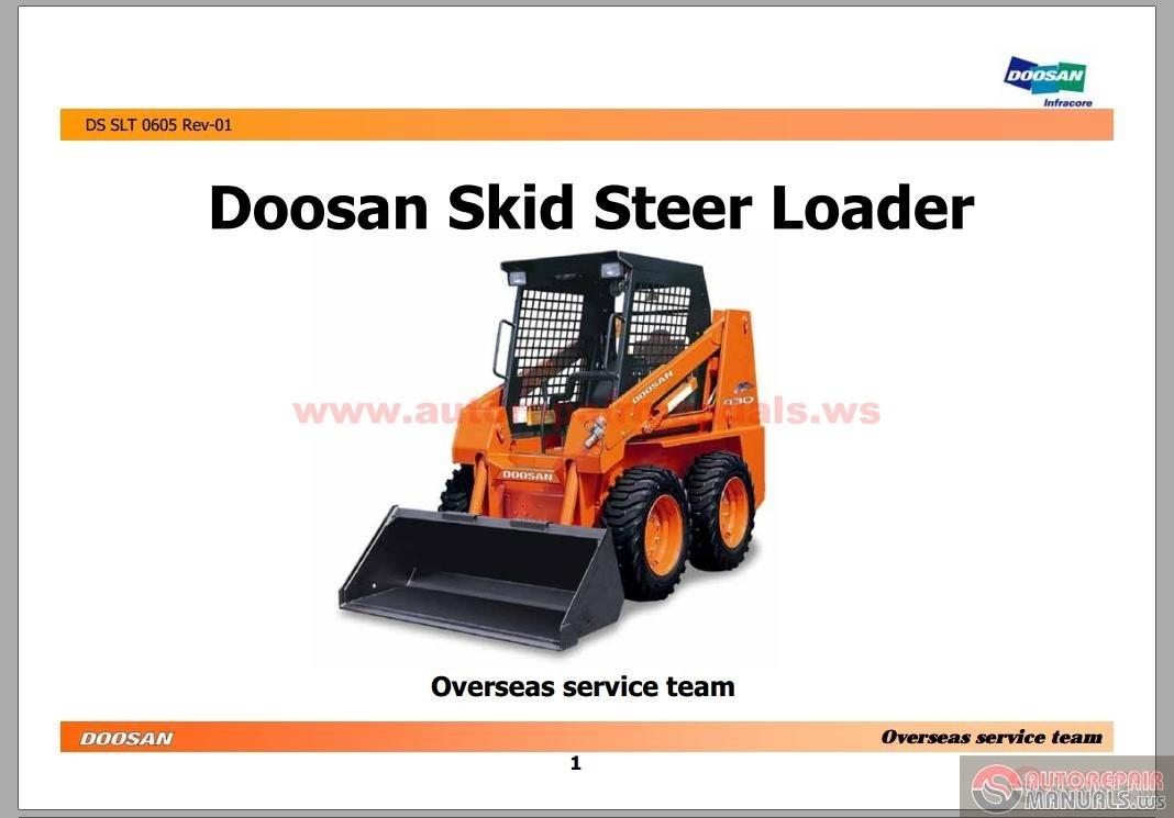 More the random threads same category: Doosan DL400 Wheel Loader Shop Manual  K1010635E ...