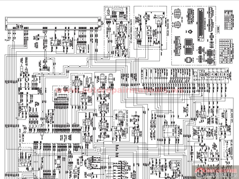 Doosan Wheel Loader Electrical Dl400 Schematic