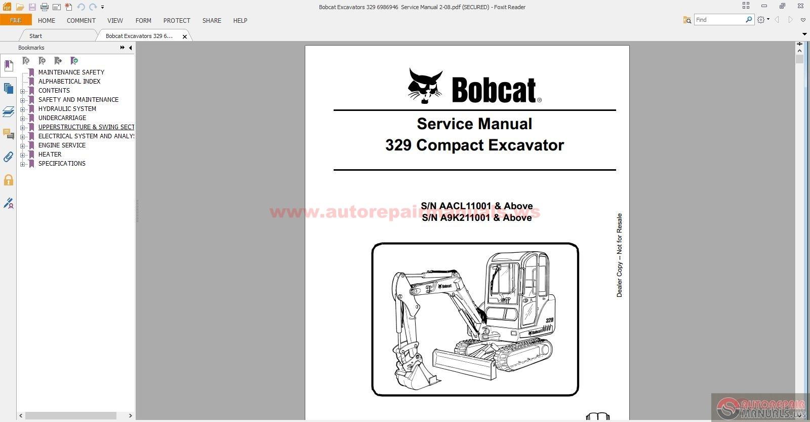 bobcat s300 manual