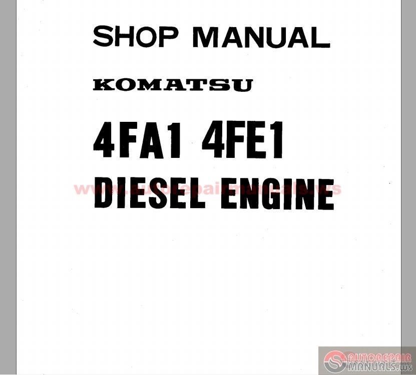 komatsu forklift shop manual auto repair manual forum Komatsu Forklift Dash Warning Lights Komatsu Forklift Oil-Type