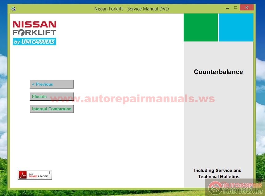 Nissan Forklift Service Manual 2013 | Auto Repair Manual