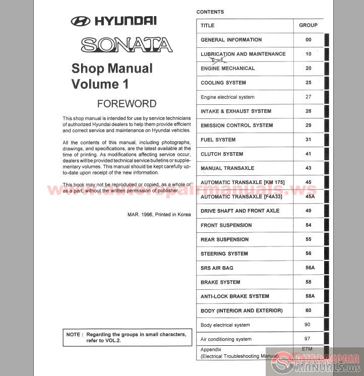 hyundai h1 service manual free owners manual u2022 rh wordworksbysea com 2005 hyundai sonata repair manual download 2005 hyundai sonata repair manual