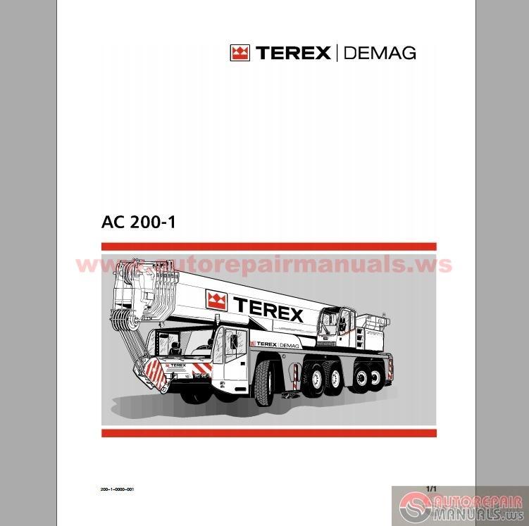 terex demag ac 200 1 operation and maintenance manual. Black Bedroom Furniture Sets. Home Design Ideas