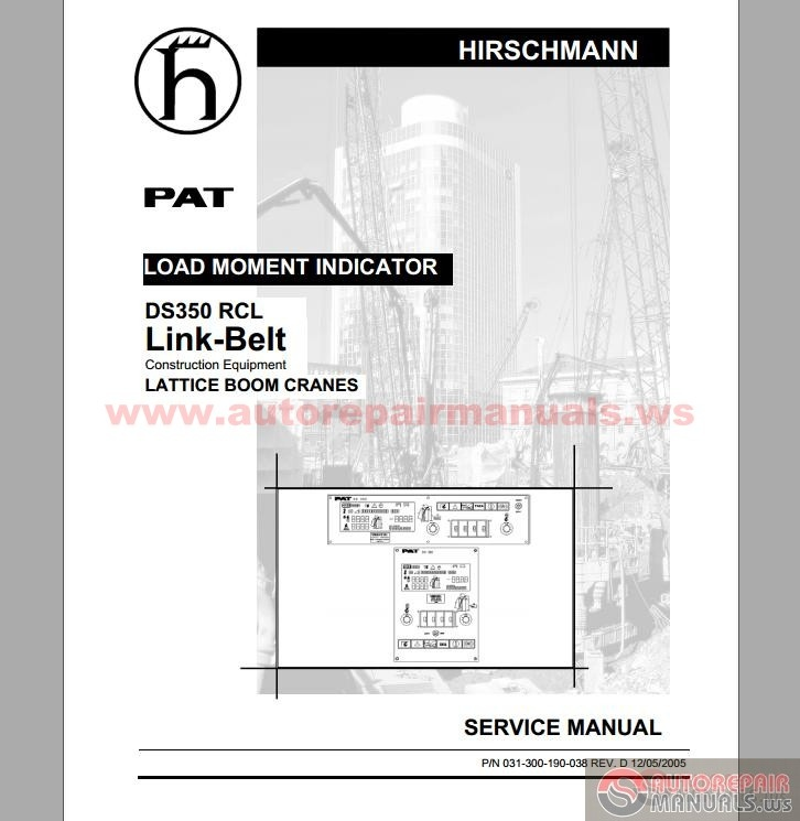 Keygen Autorepairmanualsws  Hirschmann    PAT    DS350 Manuals