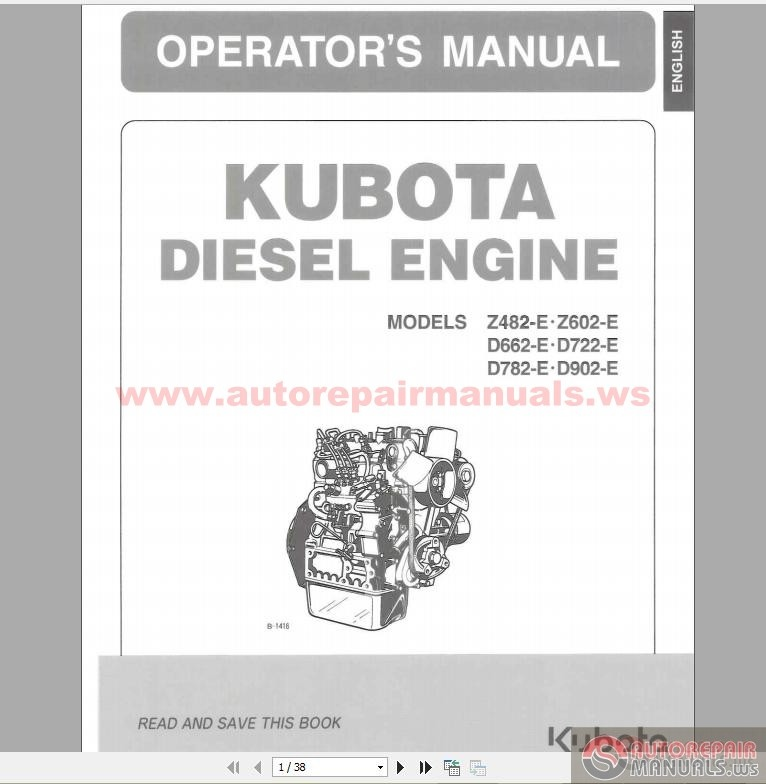 Kubota_D902_Engine_Workshop_Manual kubota parts manual 28 images kubota engines spare parts kubota d722 wiring diagram at edmiracle.co