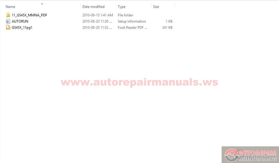 Mitsubishi 2011 Outlander Service Manual