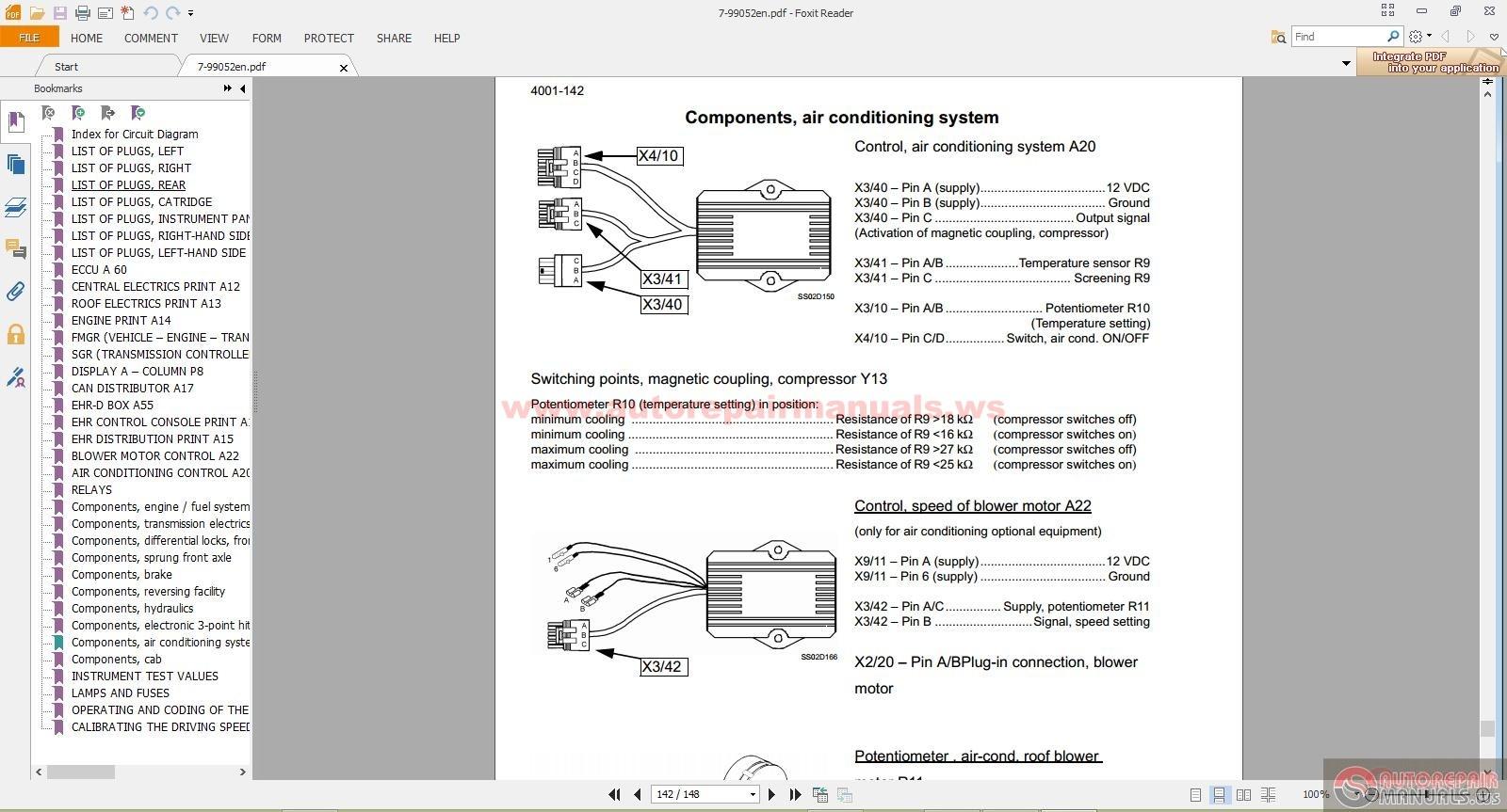 Steyr CVX 120170 Service manual   Auto Repair Manual