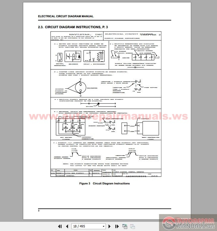 Cummins Isx15 Engine Electrical Circuit Diagrams