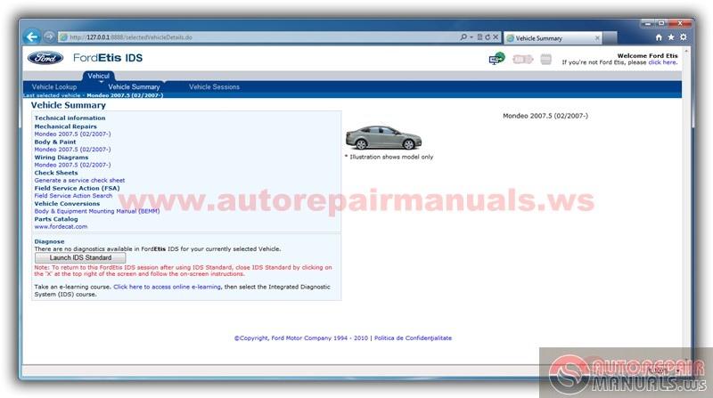 autorepairmanualswsthreadssoftwareforsupportautomotive23871: ford etis  offline wiring diagrams at anocheocurrio co