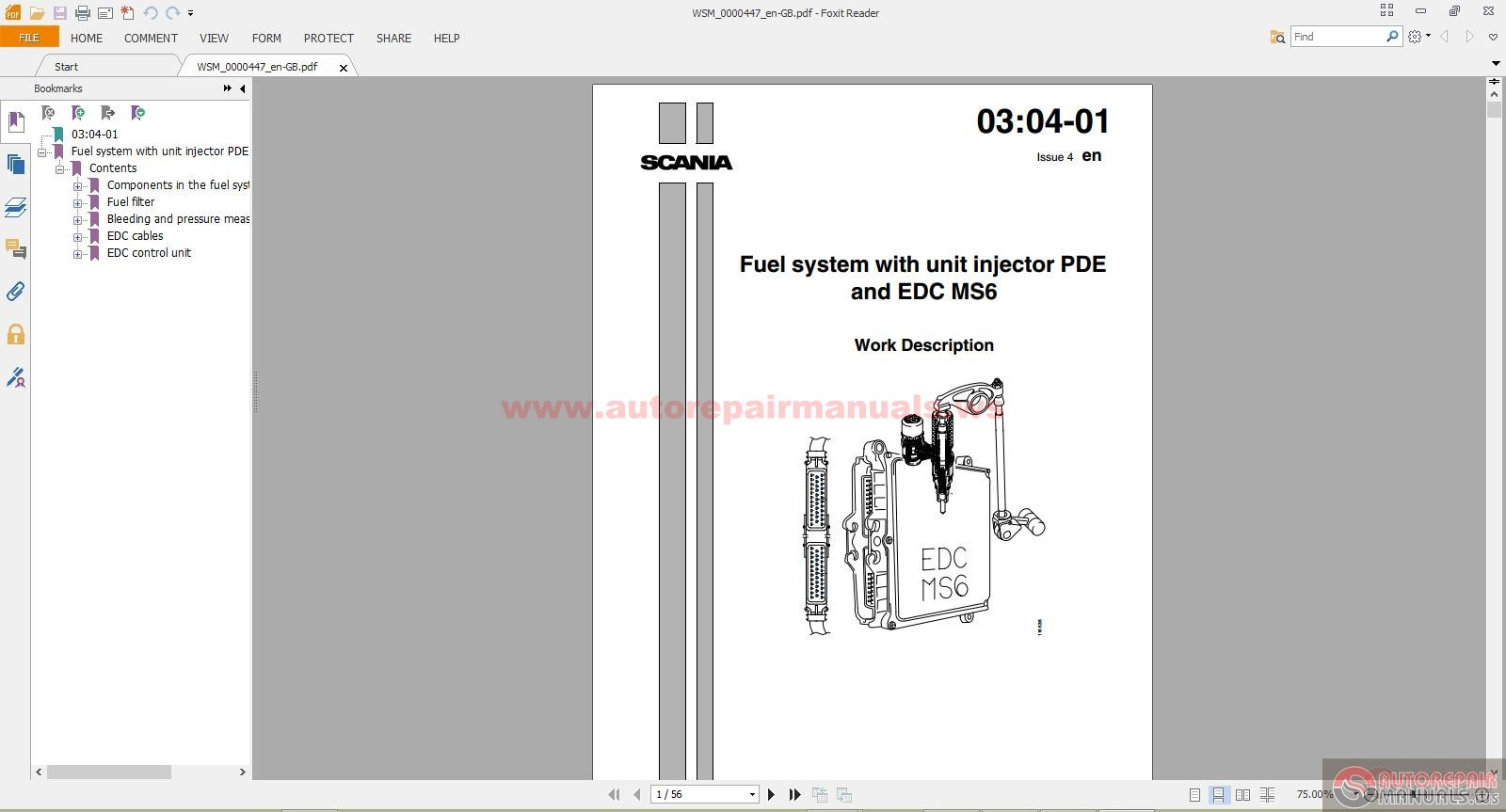 Scania dc12 workshop manual.