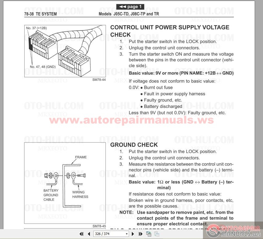 hino engine diagrams hino fuse box diagram hino automotive wiring Ducati Fuse Box Diagram hino fd fe ff sg engine service manual auto repair hino fd fe ff sg engine