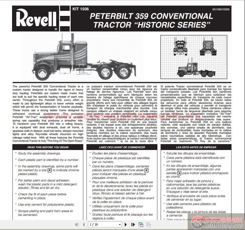 Peterbilt 359 Conventional