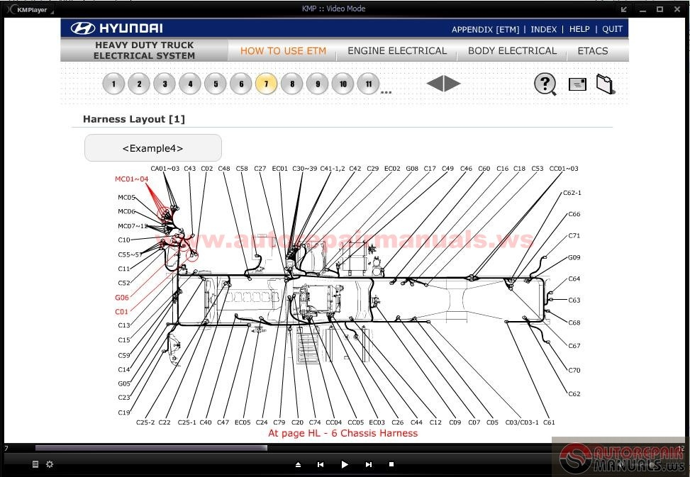 CD_Hyundai_Heavy_Duty_Truck_Electrical_System3 cd hyundai heavy duty truck electrical system auto repair manual terex hd1000 wiring diagram at mifinder.co