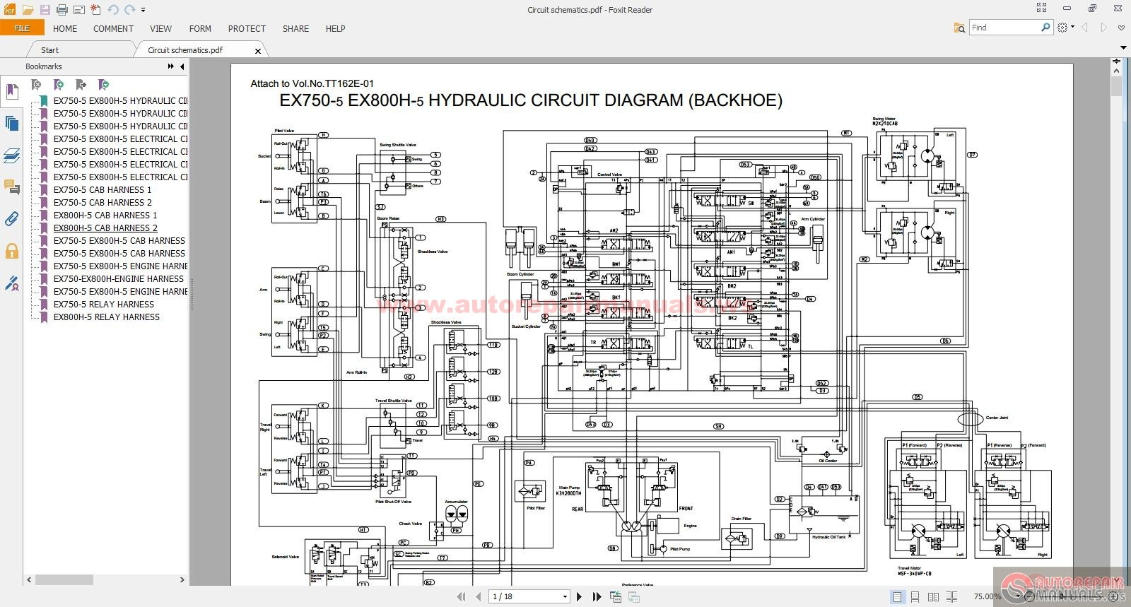 Keygen Autorepairmanuals Ws  Hitachi Ex 750