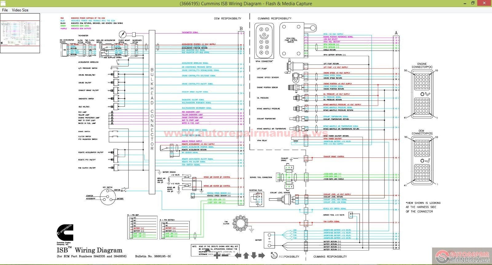 cummins wiring diagram isb cummins wiring diagram