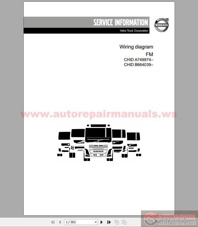 Volvo Truck FM    2013       Wiring       Diagram      Auto Repair Manual