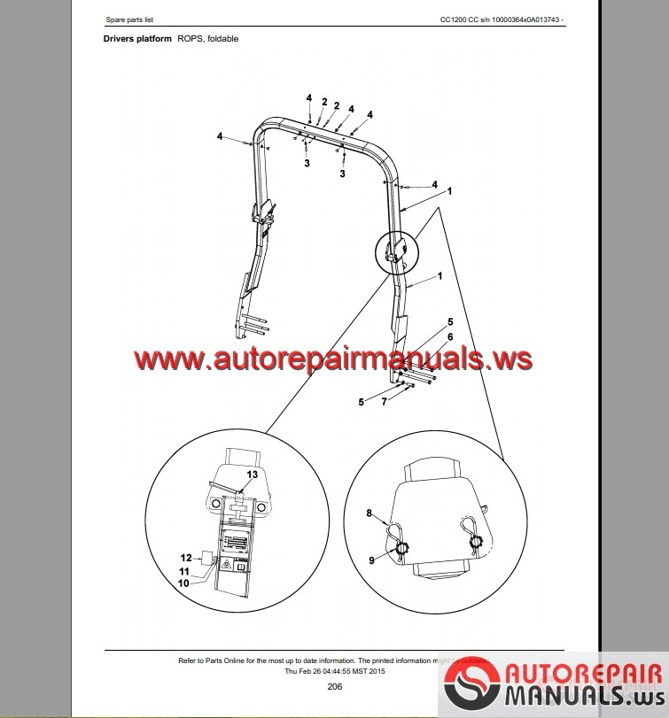 Keygen Autorepairmanuals Ws  Dynapac Part And Service Manual