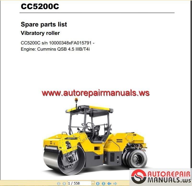 vibratory roller maintenance checklist pdf