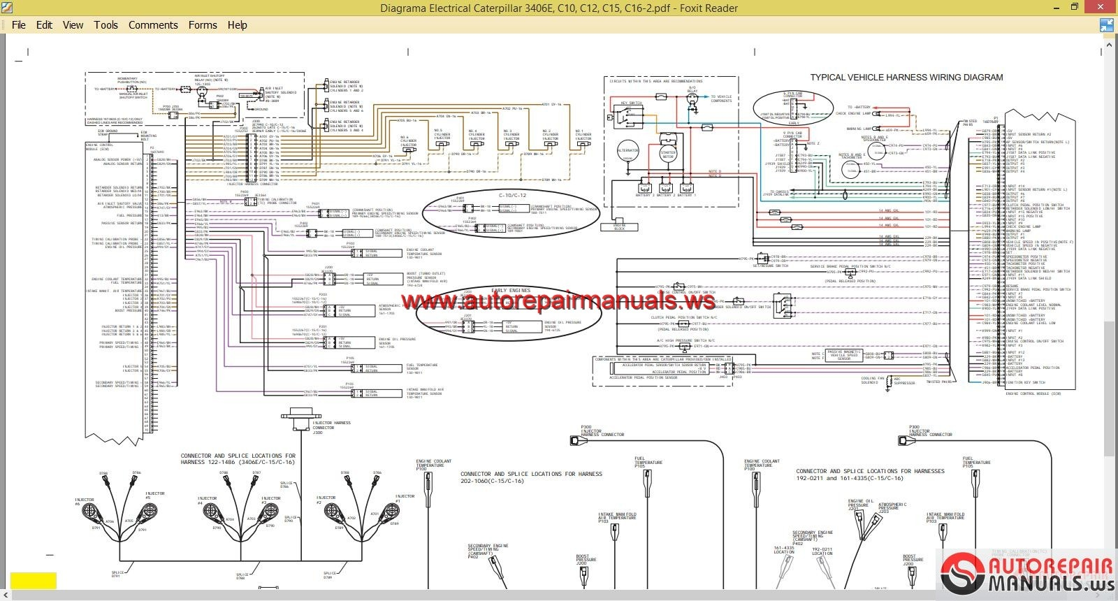 caterpillar 3406e wiring diagram - somurich.com cat 3406e fuel system wiring diagram