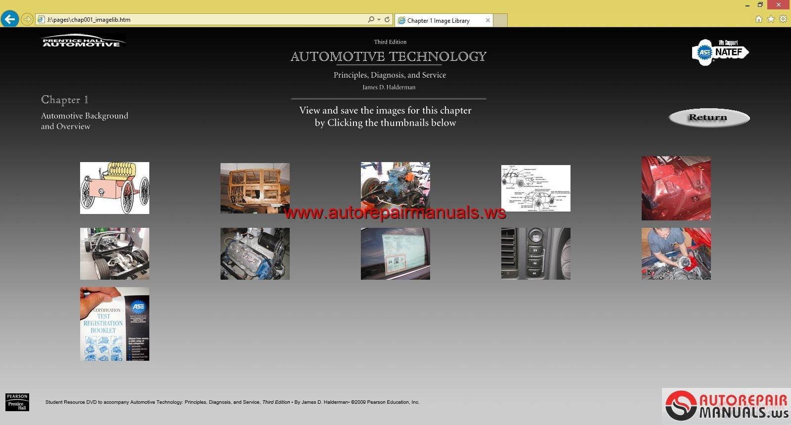 Automotive technology principles diagnosis and service