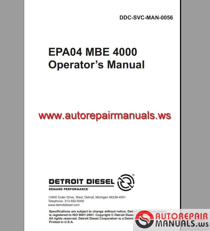 mbe 4000 fuel pump  mbe  free engine image for user manual