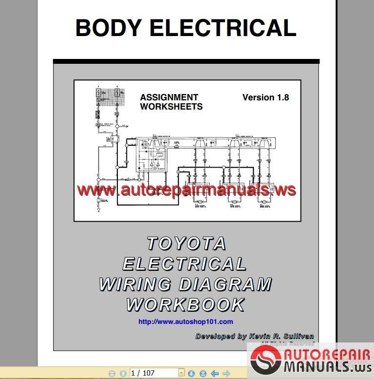 Toyota Understand Wiring Diagrams