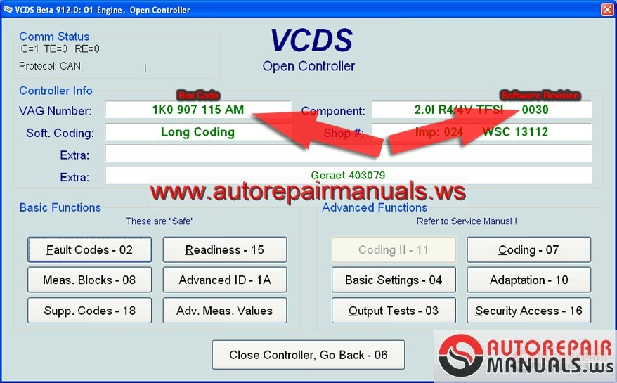 vcds diagnostic software for audi porsche seat skoda volkswagen auto repair manual forum. Black Bedroom Furniture Sets. Home Design Ideas