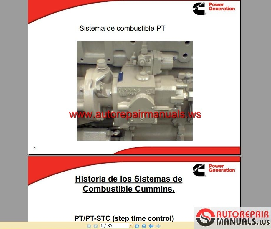 Cummins     PT    Fuel       System      Auto Repair Manual Forum  Heavy Equipment Forums  Download Repair