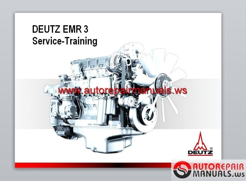 Deutz Tcd 2017 L06 Engine Maintenance Manual
