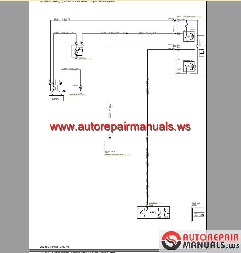 Ford_Mondeo_CD345_2011_Wiring_Systems_Diagram3 ford mondeo cd345 2011 wiring systems diagram auto repair manual ford mondeo wiring diagram pdf at panicattacktreatment.co