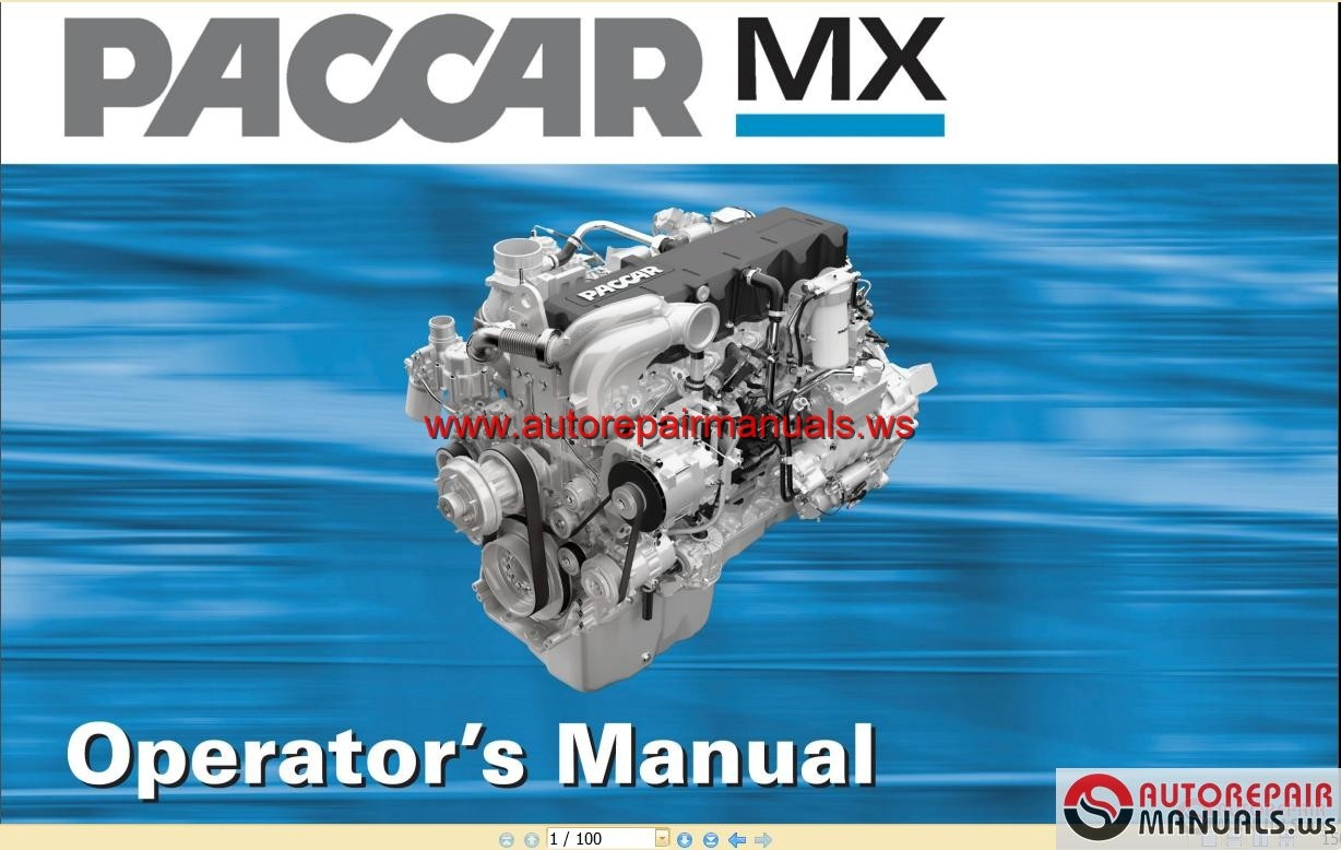 paccar engine manuals paccar mx engine operator manual auto more the random threads same category