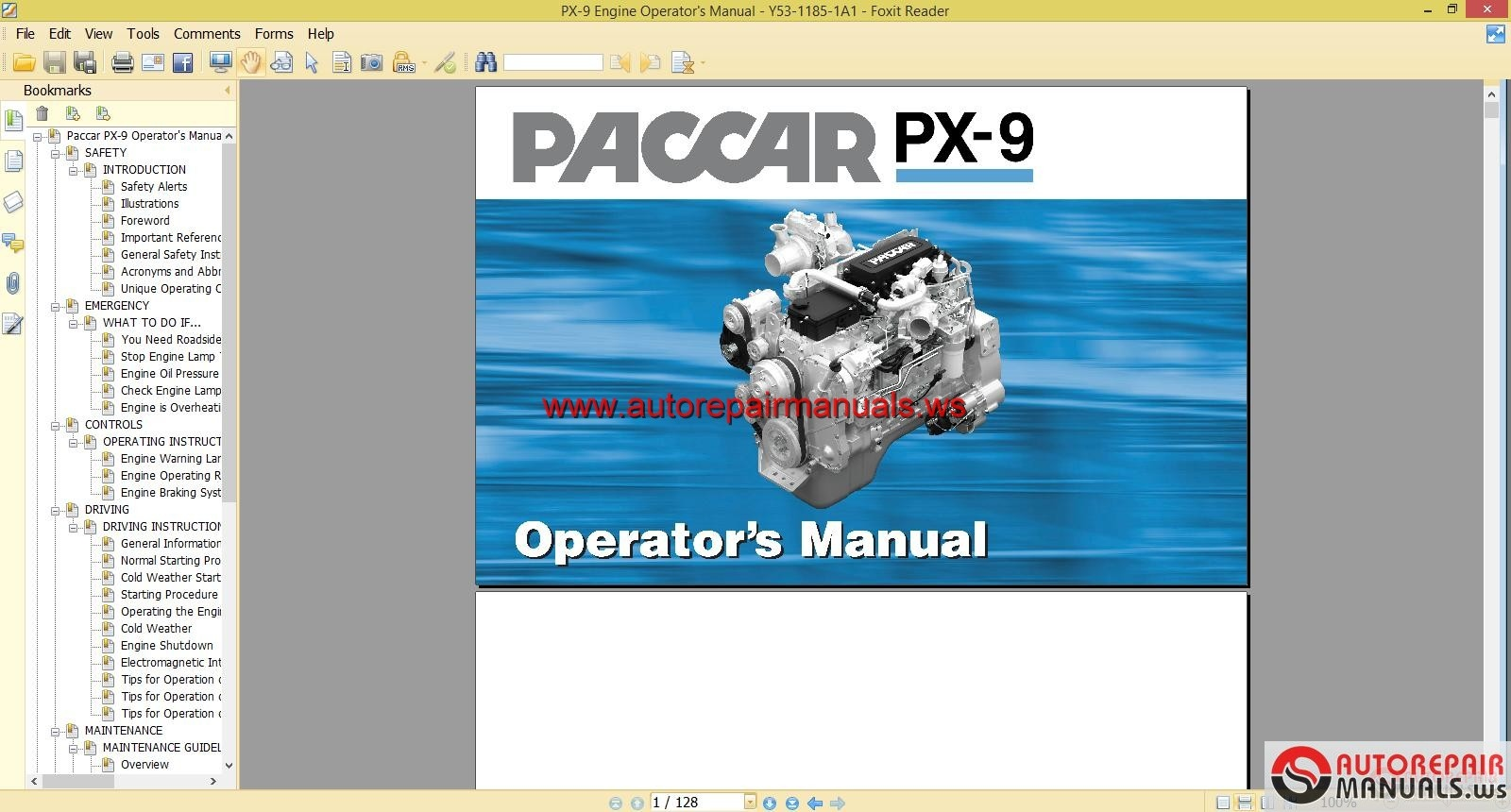 paccar px 7 engine diagram gm engines wiring diagram