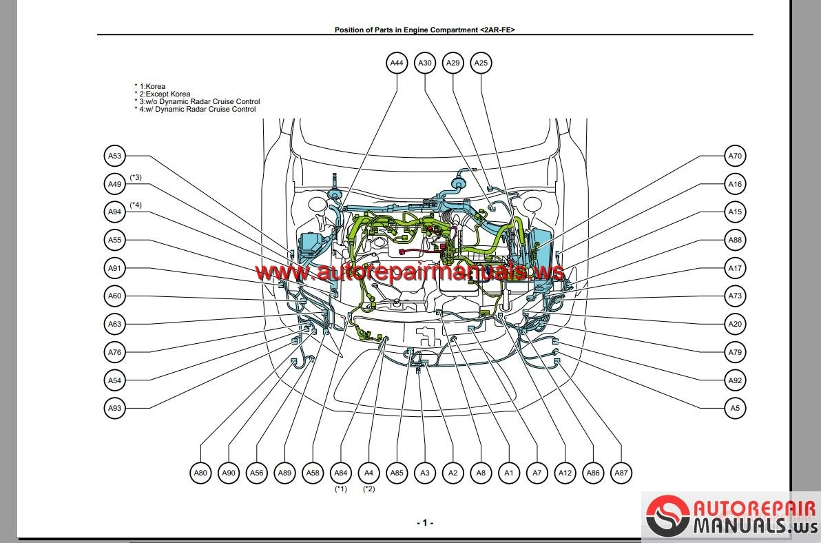 Keygen autorepairmanuals ws toyota camry workshop manual