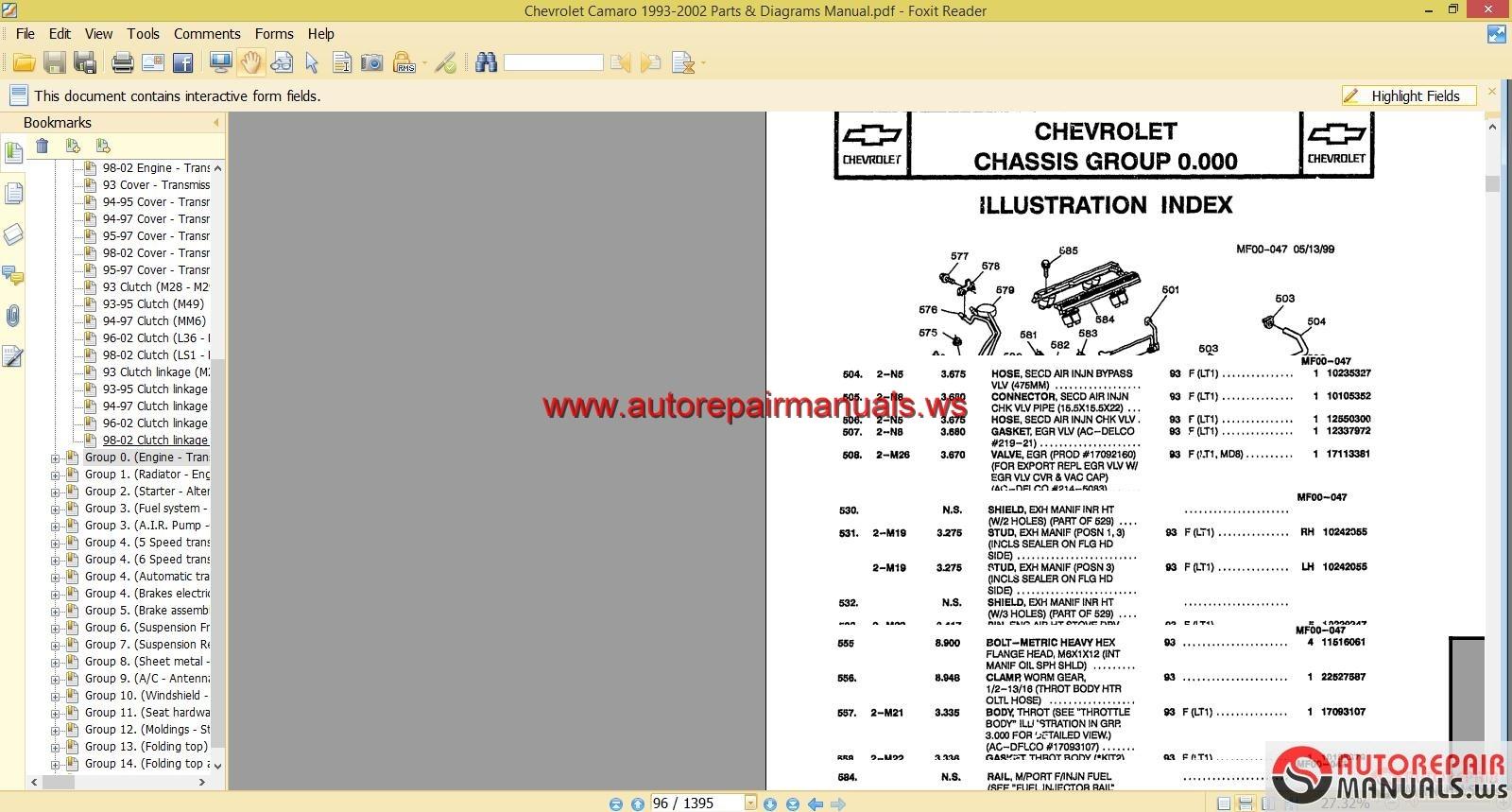 Chevrolet Camaro 1993