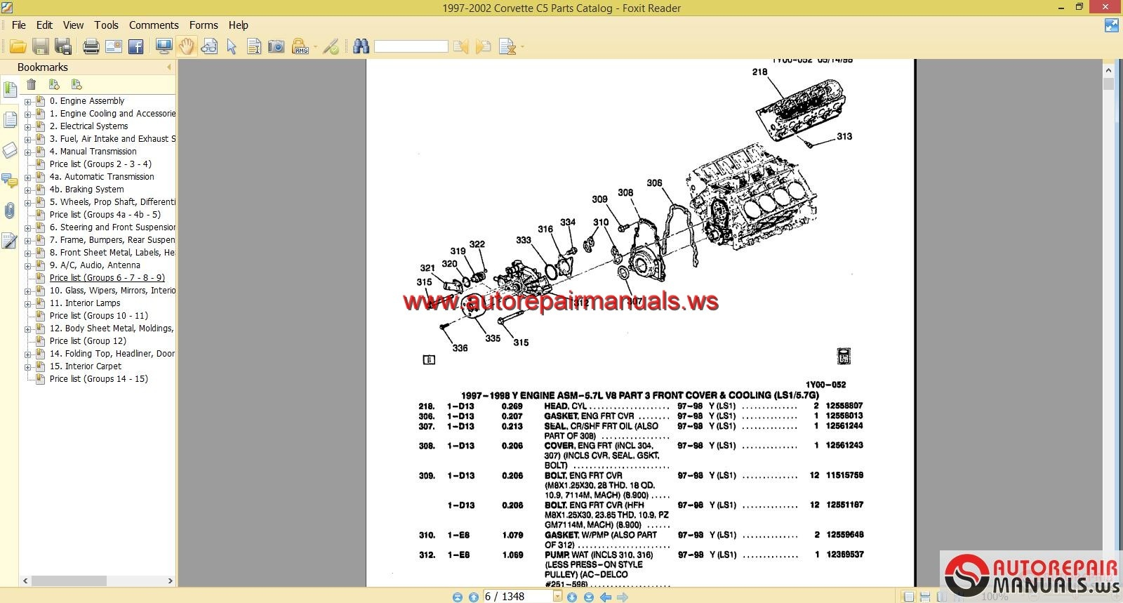 Repair Manual Related Keywords & Suggestions - Chevrolet Repair Manual .