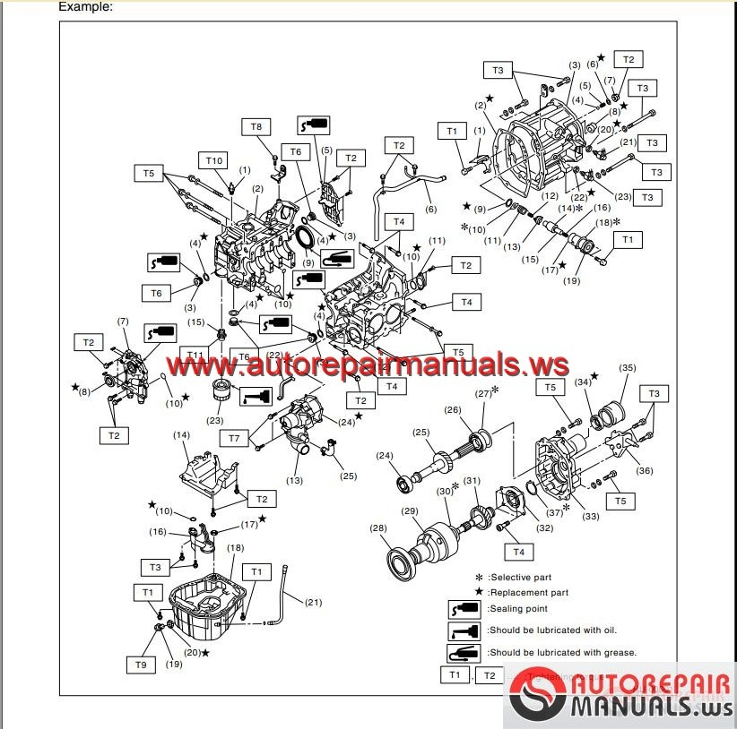 subaru forester 2003 service manual