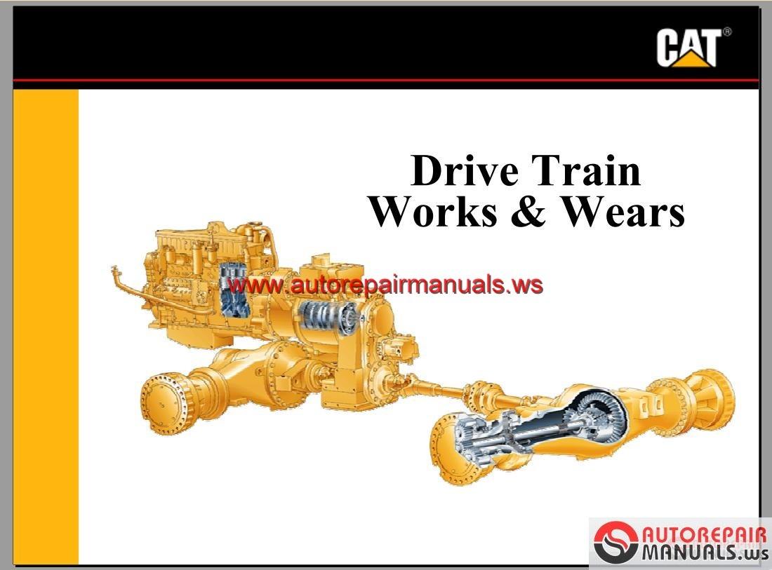 Cat Advance Training Power Train Works Wears Auto