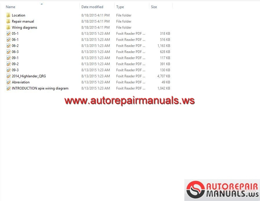 toyota highlander workshop manual auto repair manual forum toyota highlander 2014 workshop manual size 36mb language english type pdf contents location repair manual wiring diagrams 2014 highlander qrg