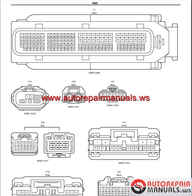 TOYOTA_HIGHLANDER_2014_Workshop_Manual5 toyota gsic repair manual, wiring diagram, body repair and etc toyota prado 150 wiring diagram pdf at webbmarketing.co